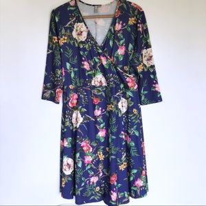 ASOS Maternity Floral Dress Size 16 Tall NWT